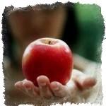 Любовный заговор на яблоко