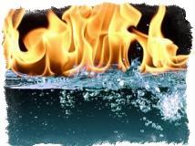 Рассорка при помощи огня и воды