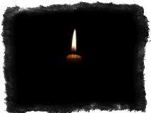 Обряд на поминальные свечи
