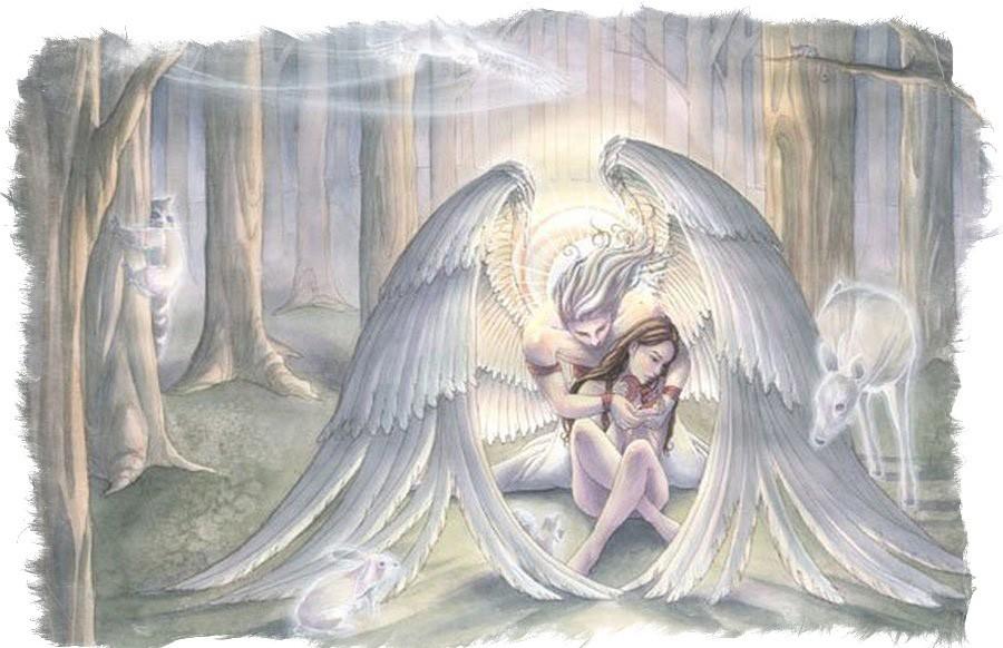 Молитва ангелу для призыва