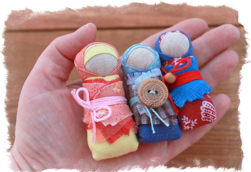Куклы обереги для новорожденных своими руками