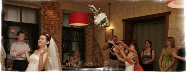 Примета. поймать букет на свадьбе