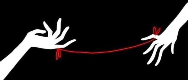 Красная нить судьбы обязательно сведет вас с любимым!