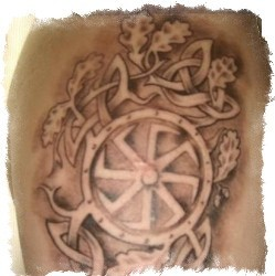 Татуировка Лады Богородицы