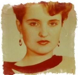 Елена Голунова в молодости