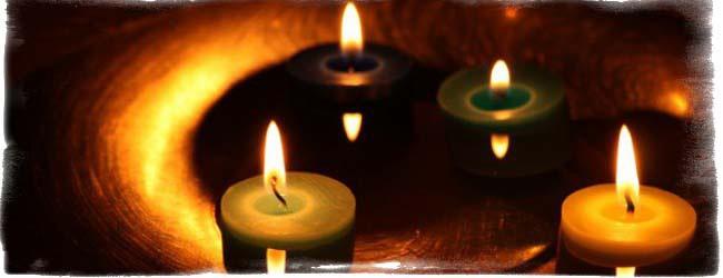Гадание на свечах или как узнать имя своей настоящей любви