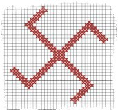 оберег вышивка крестом схема