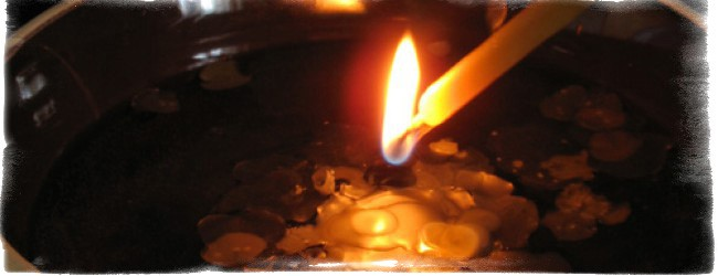 гадание на свечах расшифровка фигур