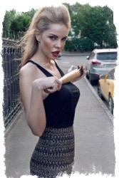 Фото - яркие образы Джулии Ванг от Алены Сазоновой