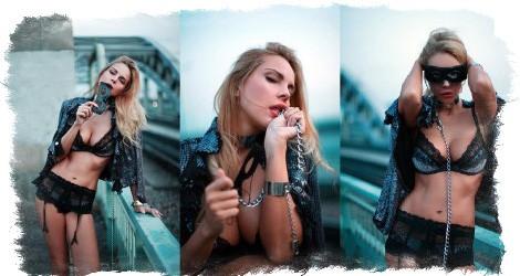 Фото - модельная карьера Джулии Ванг