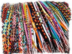 Браслет дружбы из мулине и ниток — значение цветов фенечки