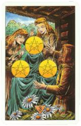 тройка пентаклей зеркало судьбы