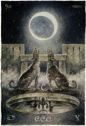 луна в таро