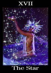 звезда аркан таро