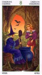 таро ведьм значение карт