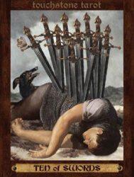 10 мечей таро значение