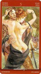 5 мечей таро значение в отношениях