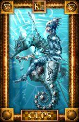 Стихия воды — значение карты Таро Рыцарь Кубков в раскладах