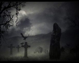 порча через кладбище