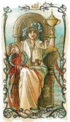 королева чаш таро