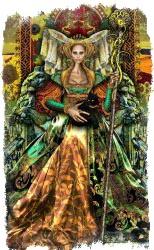 королева посохов таро значение