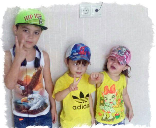 Старшие дети Поляковой