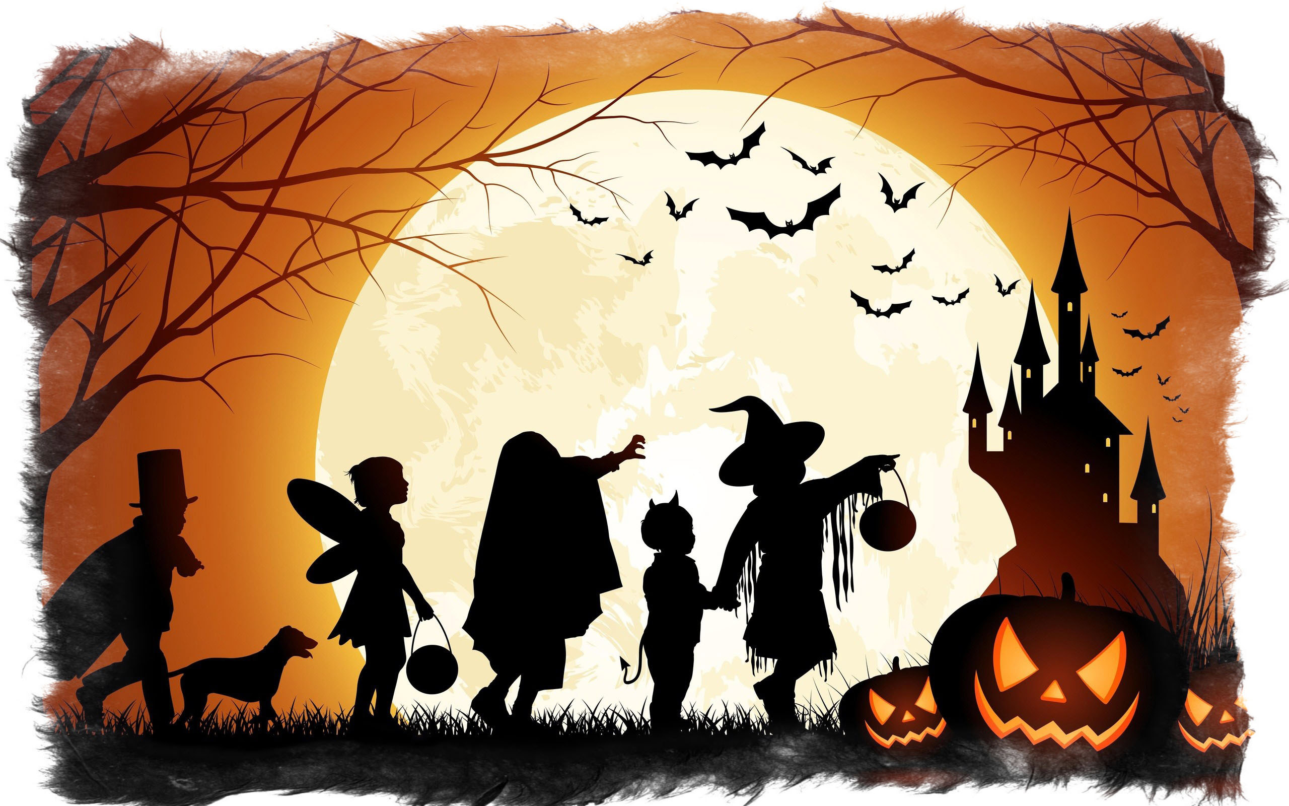 хэллоуин детский праздник