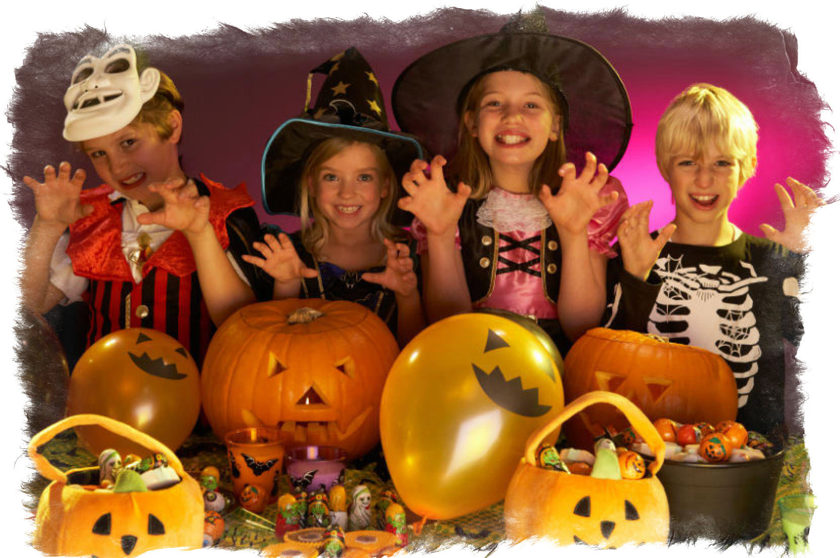 праздник хэллоуин для детей