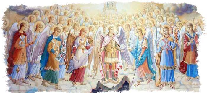 ангелы мифология
