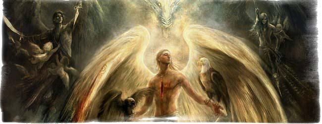 Ангел падший картина