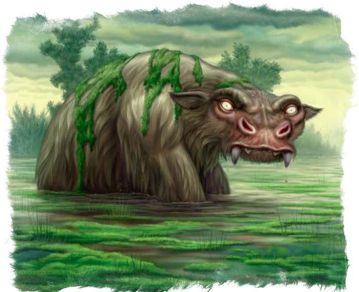 магические животные и места их обитания
