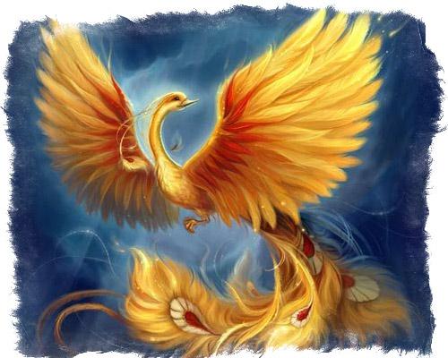 птица феникс символ