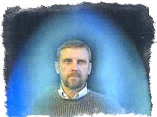 голубая аура человека