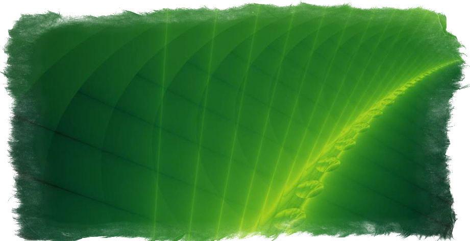 зеленая аура что значит
