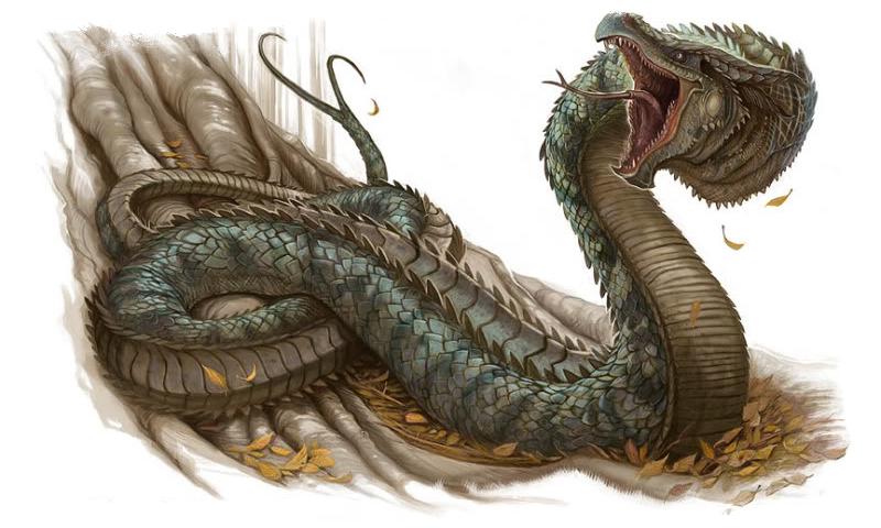 василиск змея