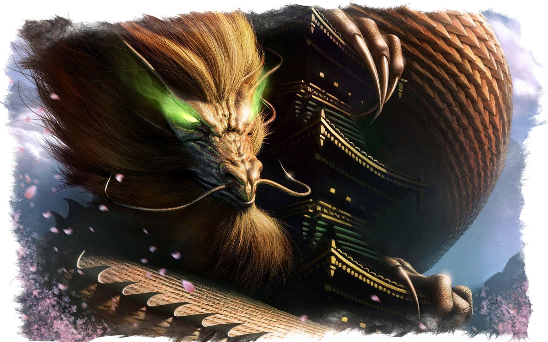 как выглядит китайский дракон