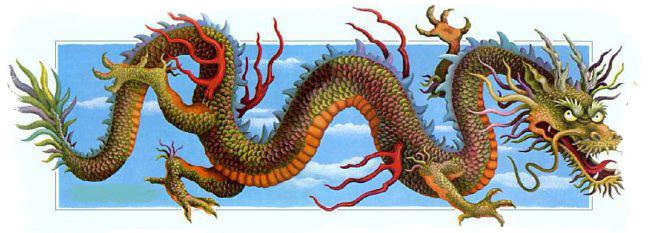 китайские мифы о драконах
