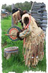 шаманская одежда