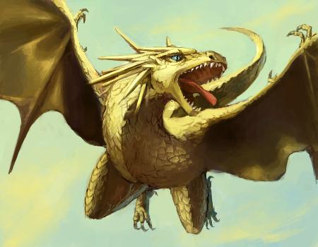 дракон в японской мифологии
