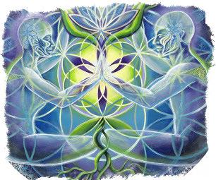 мандала цветок жизни
