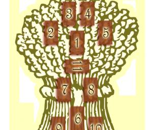 расклад сноп пшеницы