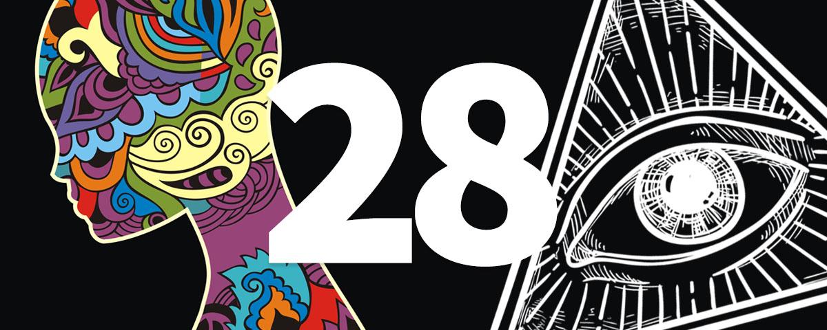преследует число 28