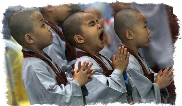 зевота при молитве
