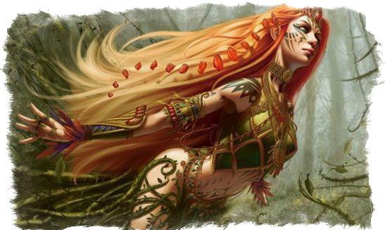 Дриады легенды
