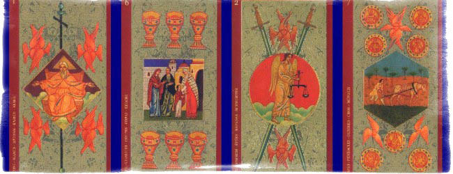 таро золото икон