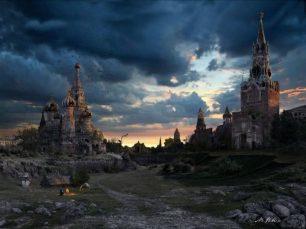 разрушенный кремль