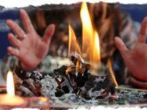 Гадание на сгоревшей бумаге, значение фигур и их тайны