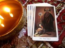 Дьявол Таро — толкование старшего аркана