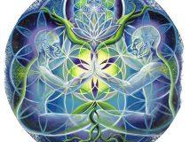 Мандала цветок жизни и другие диаграммы для осуществления желаний