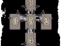 Универсальное гадание Ленорман «Крест»